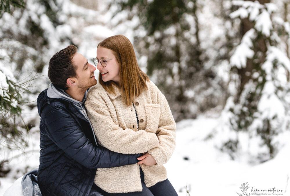 Verliebt im Schnee // Weiden in der Oberpfalz